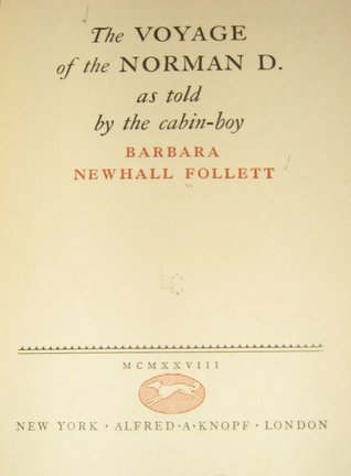 The Voyage of the Norman D., As Told by the Cabin Boy