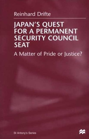 Japan's Quest For A Permanent Security Council Seat: A Matter of Pride or Justice?