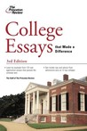 College Essays that Made a Difference, 3rd Edition (College Admissions Guides)