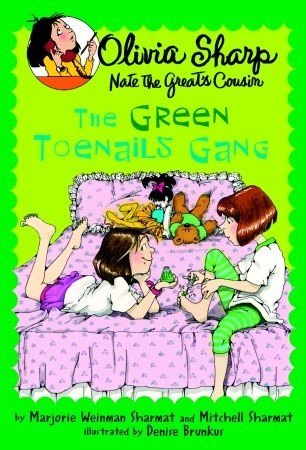The Green Toenails Gang (Olivia Sharp, Agent for Secrets (Nate the Great's Cousin))