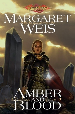 Amber and Blood (Dragonlance: The Dark Disciple #3)