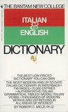 The Bantam New College Italian & English Dictionary (Bantam New College Dictionary Series)