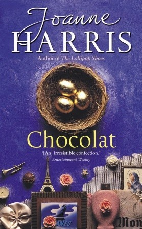"""chocolat novel by joanne harris review Joanne harris is one of my favourite authors, and """"chocolat"""" - undoubtedly her most famous novel - is, in my opinion, also one of her best ."""