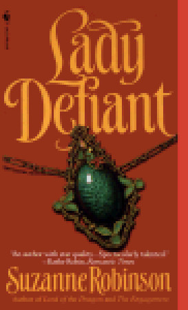 Lady Defiant by Suzanne Robinson