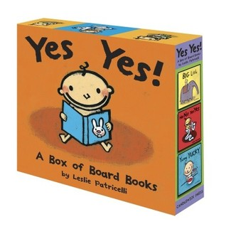 Yes Yes! A Box of Board Books by Leslie Patricelli