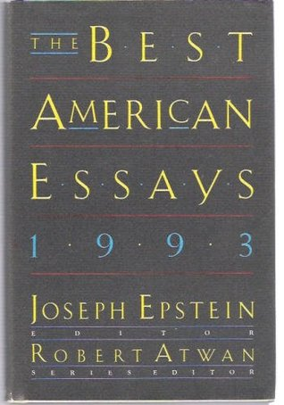 1991 american american best best essay essay The best american essays 1986 has 41 ratings and 3 reviews n said: i decided to read the entire best american essays series from its inaugural volume, 1.