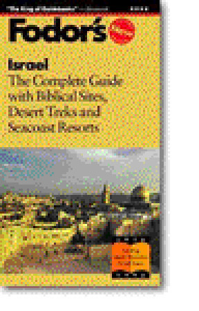 Israel by Fodor's Travel Publications