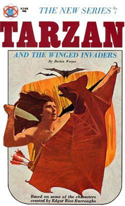 Tarzan And The Winged Invaders by Barton Werper