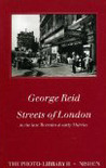 Streets of London in the late Twenties & early Thirties