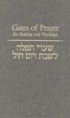 Gates of Prayer for Shabbat and Weekdays: A Gender Sensitive Prayerbook