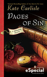 Pages of Sin (Bibliophile Mystery #4.5)