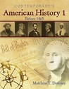 American History 1 (Before 1865), Softcover Student Text Only