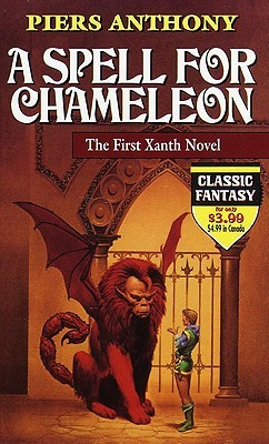 A Spell For Chameleon / The Source of Magic by Piers Anthony