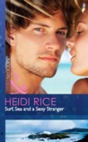 Surf, Sea And A Sexy Stranger (Modern Heat) (Brothers & Sisters, #1)