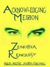 Acknowledging Meirion
