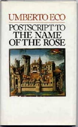 Postscript to the Name of the Rose