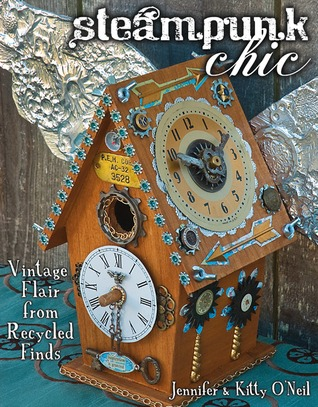 Steampunk Chic: Vintage Flair from Recycled Finds