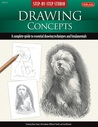 Step-by-Step Studio: Drawing Concepts: A complete guide to essential drawing techniques and fundamentals