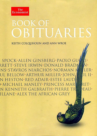 Economist Book of Obituaries by Keith Colquhoun