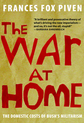 The War at Home by Frances Fox Piven