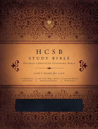 HCSB Study Bible, Black Genuine Leather Indexed by Anonymous