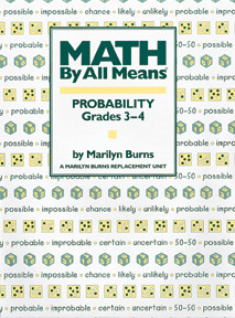 Math By All Means: Probability, Grades 3-4