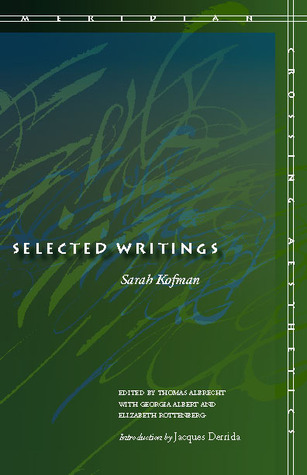 Selected Writings (Meridian: Crossing Aesthetics) (Meridian: Crossing Aesthetics)