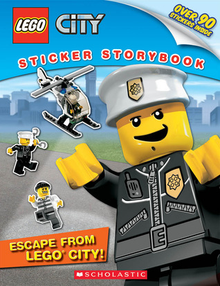Escape from LEGO City!: sticker storybook