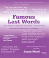 Famous Last Words: The Ultimate Collection of Finales and Farewells