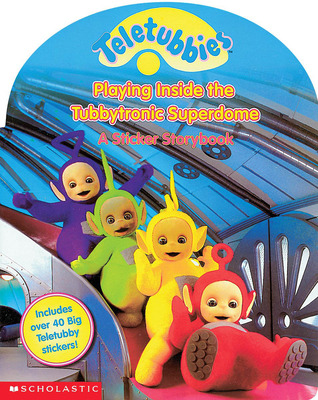 playing inside the tubbytronic superdome teletubbies