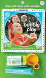 Bubble Play: Play and Learn with Bubbles! [With Tray, Wand & Bubble Solution]