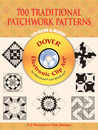 700 Traditional Patchwork Patterns CD-ROM and Book