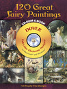 120 Great Fairy Paintings CD-ROM and Book