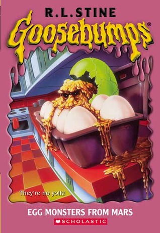 Egg Monsters from Mars by R.L. Stine