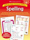 Week-by-Week Homework Packets: Spelling: Grade 1: 30 Independent Packets of Word Lists and Activities That Help Children Learn Key Word Patterns, High-Frequency Words, and More!