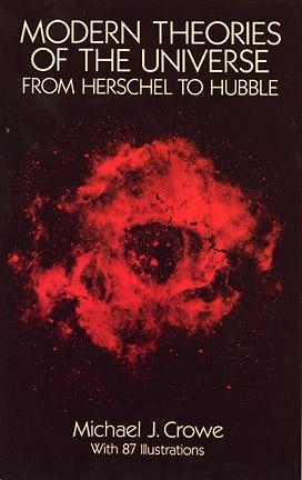 Modern Theories of the Universe, from Herschel to Hubble