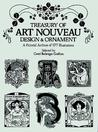 Treasury of Art Nouveau Design & Ornament. A Pictorial Archive of 577 Illustrations.