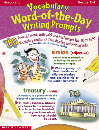Vocabulary Word-of-the-day Writing Prompts