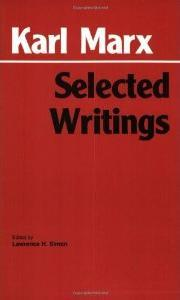 Selected Writings by Karl Marx