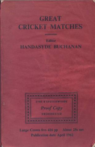 Great Cricket Matches