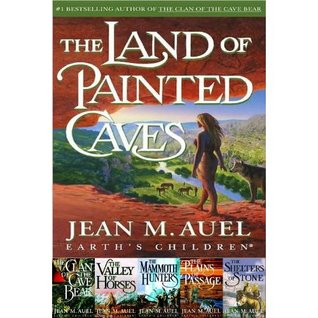 The Clan of the Cave Bear, the Valley of Horses, the Mammoth Hunters, the Plains of Passage, The Shelters of Stone (Earth's Children, #1-5)