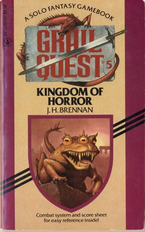 Kingdom of Horror (Grail Quest #5)