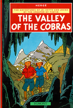 The Valley Of The Cobras (The Adventures of Jo, Zette and Jocko #5)