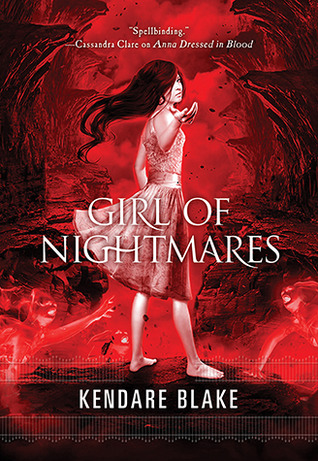 Image result for girl of nightmares summary