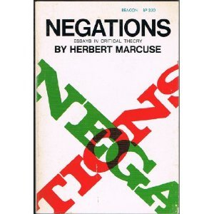 Negations by Herbert Marcuse