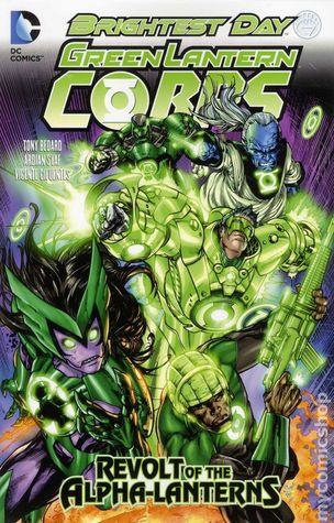 Green Lantern Corps, Volume 7 by Tony Bedard