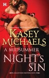 A Midsummer Night's Sin (Blackthorn Brothers #2)