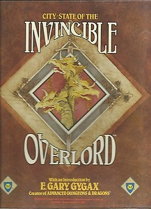 City-State Of The Invincible Overlord (Ad&D Fantasy Roleplaying)
