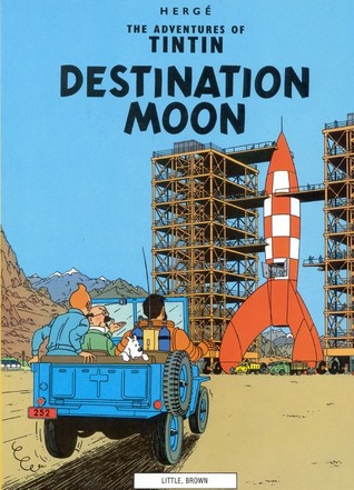 Destination Moon by Hergé