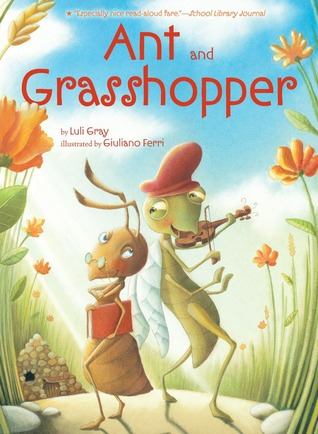 Ant and Grasshopper by Luli Gray